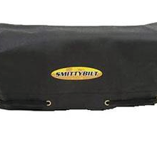 Smittybilt Logo Winch Cover Fits 8000 lbs and Higher S B97281-98