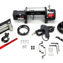 XRC-9-5K Winch Synthetic Rope Gen2 With Aluminum Fairlead