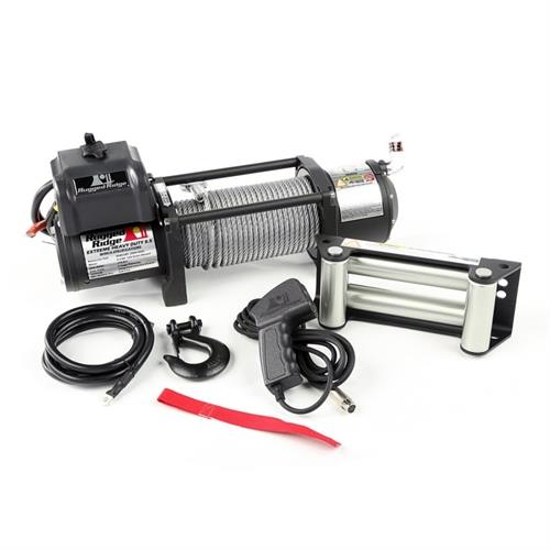 Rugged Ridge Electric Winch – 8,000 to 10,500 lbs  Spartacus Heavy Duty  Winch(RUG15100 30)